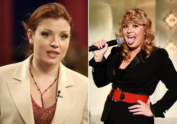 2002-ben még sötétebb vörös volt a haja, 2008-ban pedig dauert tetetett bele - ez nem a legelőnyösebb választás volt a számára.