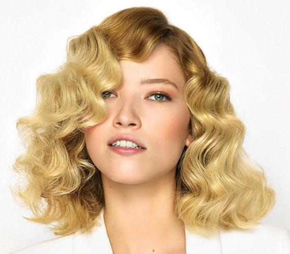 A vintage hatású frizura a '20-as éveket idézi, leginkább ovális archoz ajánljuk, de ez a hossz még a kerek archoz is jó.