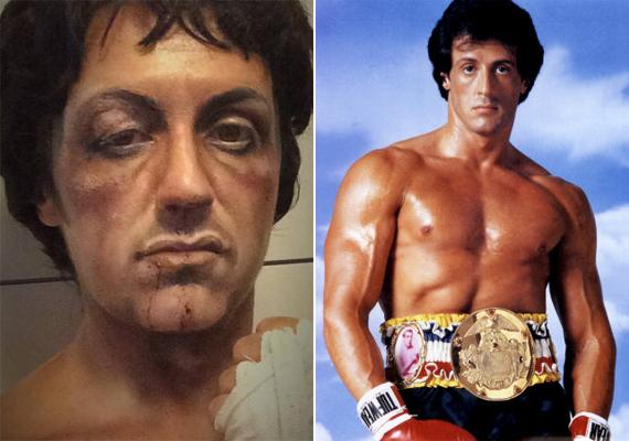 Alig lehet megállapítani, melyik az igazi Stallone.