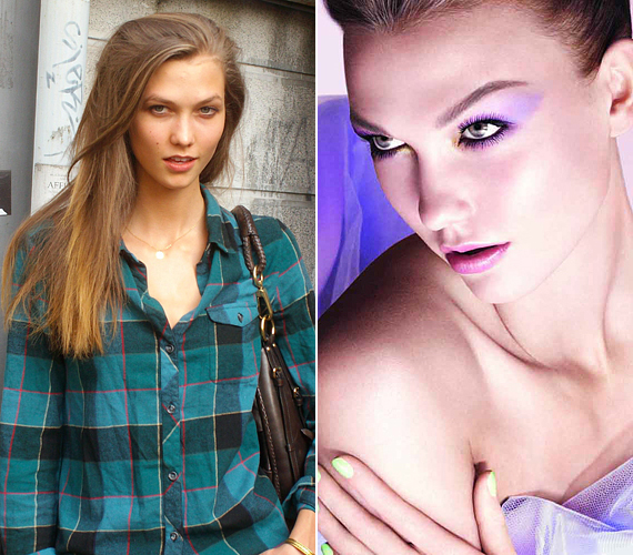 Karlie Kloss természetes valójabán talán még szebb, mint a Diornak készült reklámképeken. Még akkor is, ha borzalmas kockás ingben flangál az utcán.
