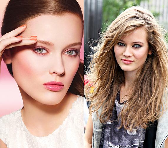 A Chanel szépségnagykövete, Monika Jagaciak mindig úgy néz ki a kampányfotókon, mint egy érett nő, holott még majdnem tinédzser, 18 éves. A saját sminkjében sokkal szembetűnőbb hamvas fiatalsága.