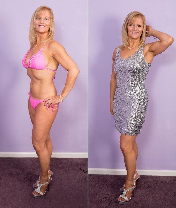 A verseny során nemcsak csillogó koktélruhában és nagyestélyiben, de apró bikiniben is láthatta a közönség és a zsűri a versenyzőket. A képek alapján az asszony megérdemelten vehetett részt a döntőben.