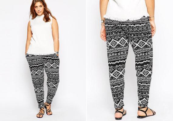 A kicsit pizsamaszerű, laza nadrágok nagyon népszerűek, nem véletlenül: kényelmesek és divatosak. Viszont néhány minta nem éppen alakbarát.