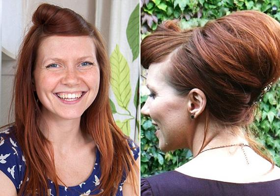 Lucy Aitken divatblogger is kipróbálta, milyen az élet sampon nélkül, és annyira bevált neki, hogy azóta sem mossa samponnal a haját. Lucy szerint a legjobb az egészben, hogy amíg folyton el kellett takarnia zsíros tincseit, megtanult egy rakás csinos frizurát elkészíteni, amelyeket a mai napig visel.