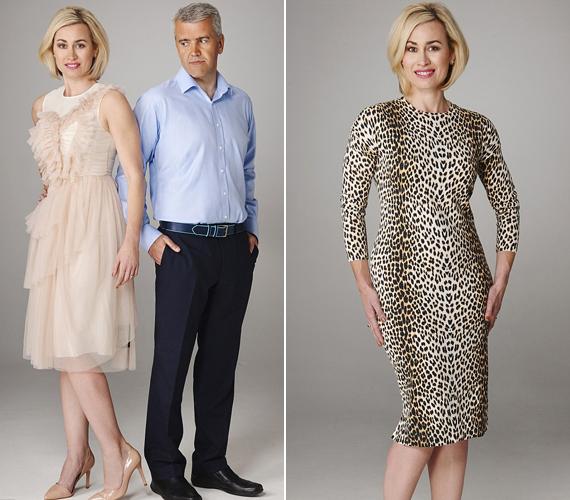 A bal oldali ruhát alaktalannak tartja - azt a benyomást kelti benne, mintha megnyirbálták volna az anyagot, amiből a nyakrészre már nem jutott.A leopárdmintát sem gondolja dögösnek, szerinte erőltetett.