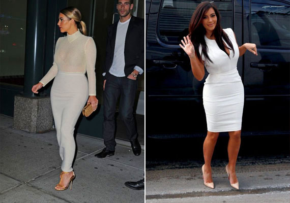 Kim Kardashianen hol több, hol kevesebb, de mindig volt egy kis plusz, ami azonban igazán jól áll neki. Domborodó csípője mágnesként vonzza a férfiszemeket.