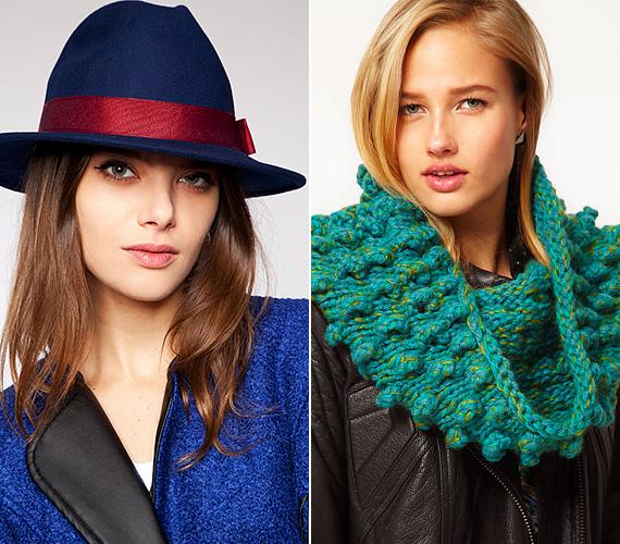 Ha a kötött sapkát már unod, idén gyönyörű kalapok közül válogathatsz, melyek kifinomult stílushangulatot teremtenek, illetve karakteresebbé teszik a megjelenést. Ebben a szezonban az elegáns bársonyszínek a legdivatosabbak, vagyis az éjkék, szilvakék, bordó és smaragdzöld. Vastag kötésű, színes csősállal is feldobhatod a megunt kabátodat.