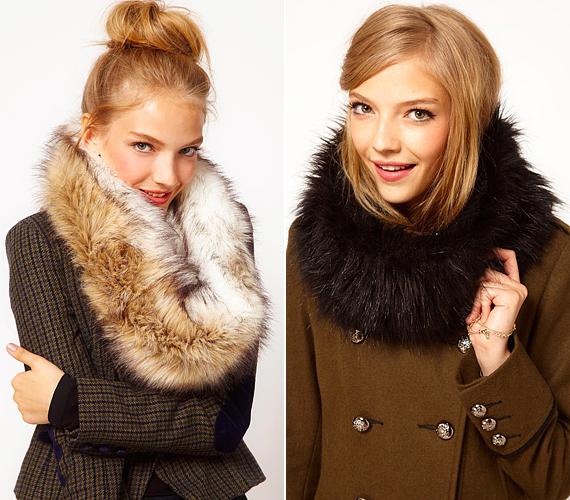 A negyvenes években elegáns dívák hordták a szőrmegallért, ma már egészen más divatirányzatokban kapnak helyet a puha, meleg, műszőrme nyakvédők. Kabát nélkül, blézerrel, ruhával is jól mutatnak, és nőiesebbé, különlegesebbé varázsolják az öltözéket.