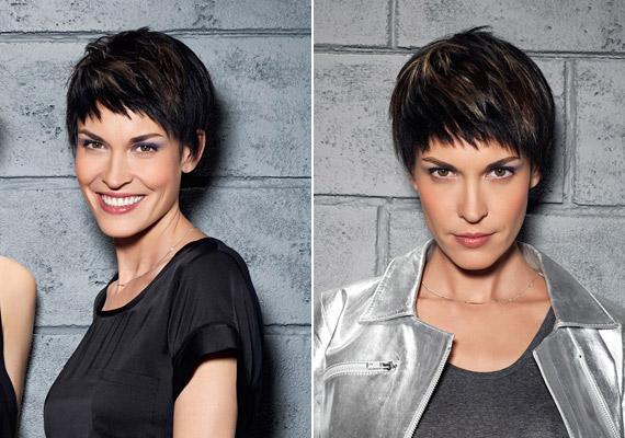 Extra rövid, tépett frizura, mely az arcodra irányítja a tekintetet, bármilyen arcformához jó, de itt sem árt a smink.
