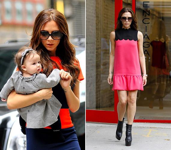 Victoria Beckham neve mindig ott szerepel a divatikonok között, a Vogue sem feledkezett meg róla. A sztármami igyekszik mindig a saját öltözékéhez igazítani a kislánya stílusát, így a bűbájos Harper Beckham a legfiatalabb jólöltözött hölgyemény a listán.