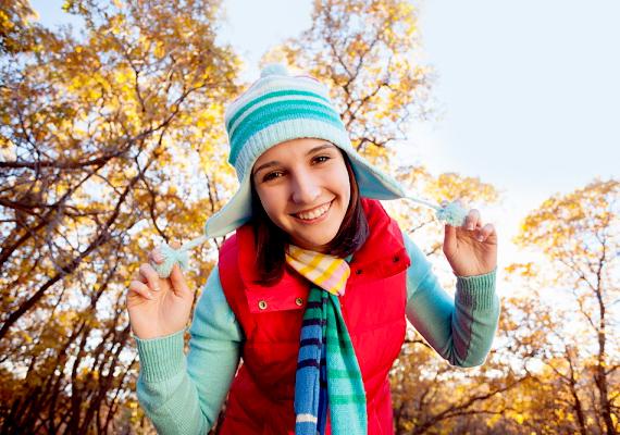 A rikító színek feldobják az őszi hangulatot, azonban érdemes ara figyelni, hogy ne legyen szembántó a színkavalkád.