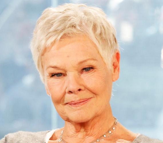 A 81 éves színésznő, Judi Dench, aki egyébként bevállalósságáról is ismert, hajszínét tekintve szintén a természetességre szavaz. Bátran szembeszáll az elvárásokkal, és büszkén vállalja megőszült frizuráját.