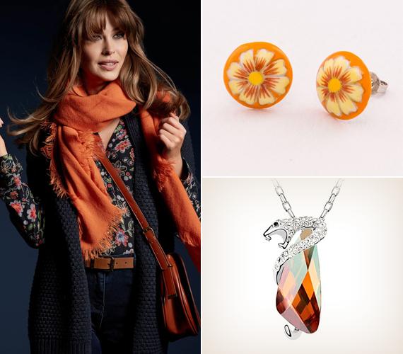 Rózsás narancsVidám, lágy szín, amely megtölti ruhatáradat élettel, gyengéden határozott megjelenést kölcsönözve számodra.Rózsás tónusú narancs ékszereinket ide kattintva találod!
