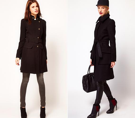 A hosszított fazonú kabátok sem fogják összenyomni és szélesíteni az alakodat, ha a karcsúsított szabású, sötét daraboknál maradsz.