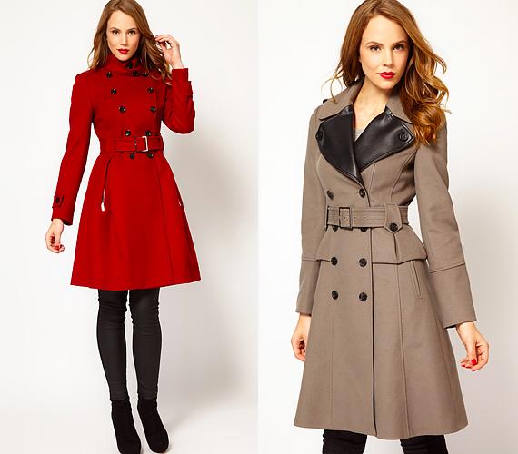 A szigorú vonalvezetésnek is van előnye  a klasszikus trencskófazonok  mintáját követő kabátok letisztultak és nőiesek d92dd0fbf4