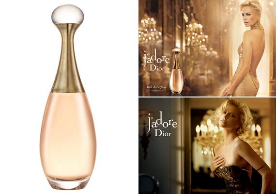 Az érzéki csábítás mestereként ábrázolják a szexis Charlize Theront a Dior J'adore parfümreklámjában, melyben fülledt erotikával és bujasággal csalogatja magához az ellenkező nemet. Ha szeretnéd az illatot, itt rendelheted meg.