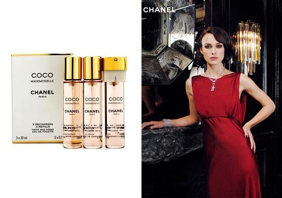 A klasszikus nőiesség és a szelíd elegancia jegyében készült a Coco Mademoiselle parfüm, melyhez nem is találhattak volna jobb karaktert, mint a bájos, mégis méltóságot sugárzó Keria Knightley-t. Ha szeretnéd az illatot, itt rendelheted meg.
