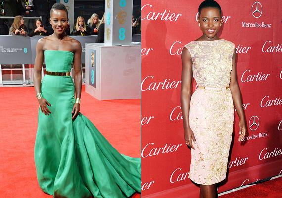 Lupita Nyong'o Oscar-győzelme után rögvest a stílusikonok között találta magát. Egyszerű, letisztult megjelenése sok nőt inspirált, ennek köszönheti, hogy idén ő is helyett kapott a listán.