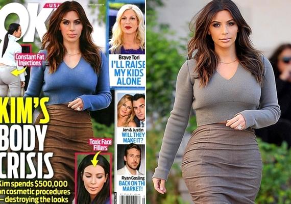 Egyesek még azokat a fotókat is feljavítják, amelyeket aztán negatív kritikával illetnek. Ez történt Kim Kardashian képével is.