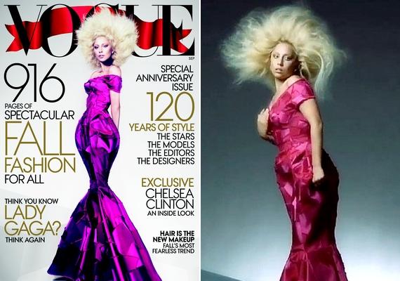 Mindig érdekes látni azokat a képeket, amelyek mellett kiszivárgott még pár feljavítatlan, ám ugyanabban az időpontban készült fotó. Lady Gaga esetében szembetűnő a különbség.