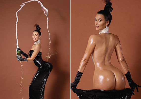 Kim Kardashian manipulált fotóját is muszáj megemlíteni: őszintén, miért gondolta, hogy bárki elhiszi, ekkora fenékkel áldotta meg a sors? A kép sokaknál kiverte a biztosítékot.