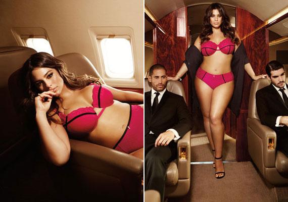 Csábító, pink fehérnemű, valamint két jóképű férfi, akik a repülőgép legénységének a tagjai: minden adott volt egy szexis fotózáshoz.