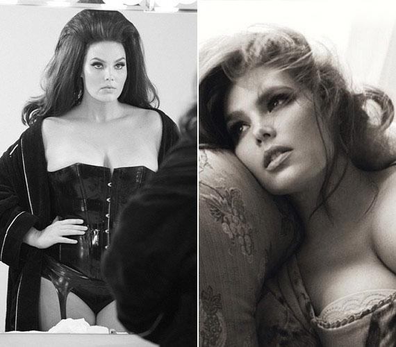 Candice Huffin igazi úttörő: ő az első telt modell, aki a Pirelli-naptában szerepelhetett.