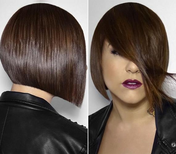 Az A-vonalú bob nagyon jó választás annak, akinek nincs sok haja, és dúsabb látszatot szeretne kelteni. Egyszerűen kezelhető frizura, amely mindig elegáns megjelenést kölcsönöz viselőjének.