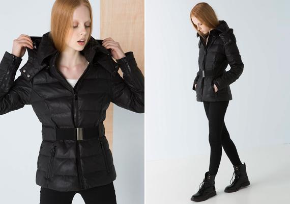 Az öves megoldások praktikusak, mert keskenyebbnek mutatják a derék- és csípőrészt, előnyösebbé téve a sziluettet. Ez a kabát a Bershka kínálatában található meg, ára 14 995 forint.