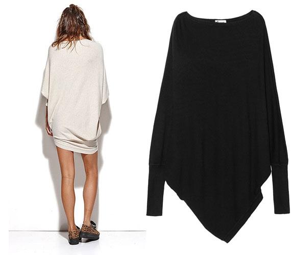 Akár ruhának is beillik a Tezenis 5995 forintba kerülő pulcsija, amiről elölről sajnos nincs kép.