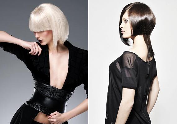 A nagyléptékű, fokozatosan levágott stílus olyan, mintha magad estél volna neki ollóval a hajadnak.