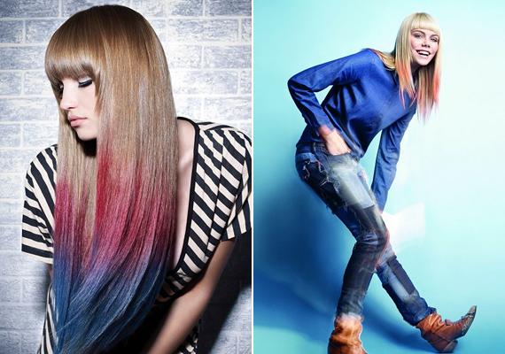 Habár az ombre hajfestés most nagyon trendi, ha egy mód van rá, ne akarj a paradicsommadár színeiben pompázni.