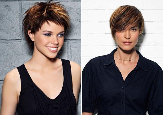 A melír lágyít a frizurán, ráadásul többnek mutatja a hajat, így rövid fazonokkal társítva különösen előnyös, ha vékonyszálú, tartás nélküli hajad van.