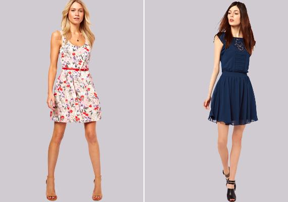 Rövid: 170 cm alattHa a rövidebb ruhák tetszenek, választhatsz konszolidáltabb, de ugyanúgy divatos darabokat magadnak. Ez a hossz leginkább a 170 cm alattiakon mutat jól, ugyanis, ha valaki túl magas, a rövid szoknya még tovább nyújthatja az alkatát. Ugyanakkor, ha az ember alacsonyabb, egy rövidebb szoknya optikailag hosszíthatja a lábait.