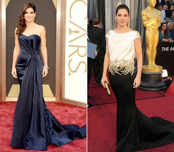 Szívesen variálja a stílusokat, van, hogy igazi dívának öltözik, de a 2012-es Oscarra egy szokatlan szabású Marchesa ruhát választott.