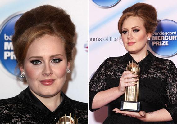 Ha elegánsabb helyre mentek, a vastag tusvonal, melyet Adele is visel, elmozdítja a sminkedet a mindennapitól, de csak természetes árnyalatú arcpírt és enyhén csillogó szájfényt használj.