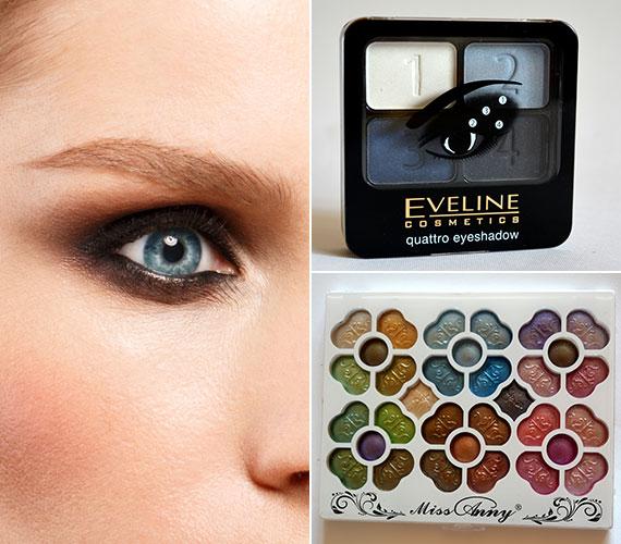 A szemeket illetően továbbra is hódít a smokey eye, amelynek nappali változatát könnyedén elkészítheted egy vegyes szemhéjpúder-paletta segítségével.Az AsiaCenterben a képen látható termékeket 1250 és 1190 forintért tudod megvásárolni.