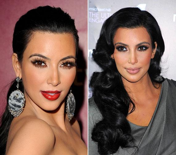 Kim Kardashiant lehet szeretni és utálni, arckontúrja azonban legendás, és szerencsére nem is titkolja, hogyan készül, twittelt magáról ilyen képet. Itt pedig videón nézheted meg. Némi gyakorlás kell, de megéri.