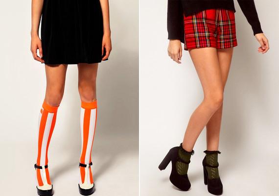 A szandál-zokni sztereotípia kezd megdőlni - persze nem mindegy, hogy milyen az a szandál és zokni, de egy ízlésesen megválasztott összeállítás még csinos is lehet.