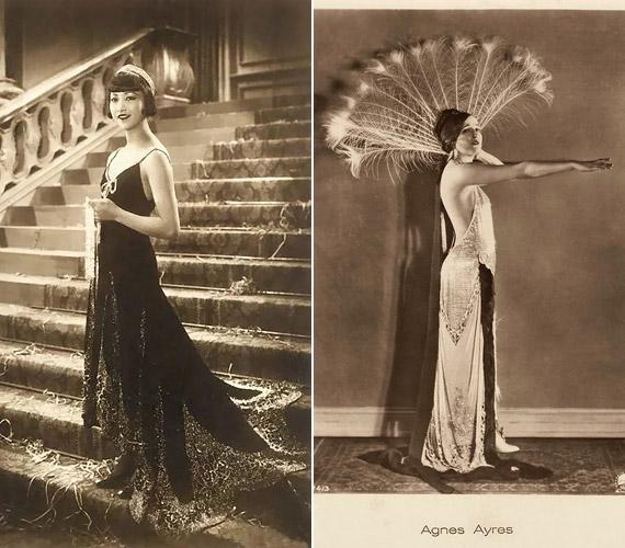 Az 1910-es években egyre divatosabb lett a fiús, karcsú testalkat, a hátkivágásos ruha pedig azóta is divatban van.