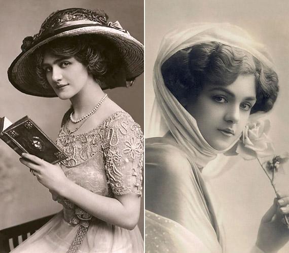 Az öltözködés és a hajviselet jóval kevesebb önkifejezésre adott lehetőséget, a századfordulón mindenki hasonló ruhákba járt. Ugyanakkor érdekes lehet, hogy ez a két női arc ma is ugyanolyan gyönyörűnek számít, a telt száj, a nagy szemek ma is vonzóak.