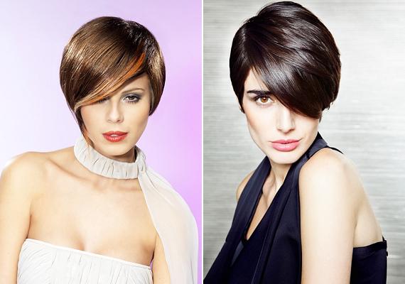 Az egészen oldalt elválasztott, előrefésült haj lényege, hogy kevésbé lapul le, mintha középen választanád el, így nemcsak dúsabbnak látszik, de akár még alkalmi viseletként is megállja a helyét.