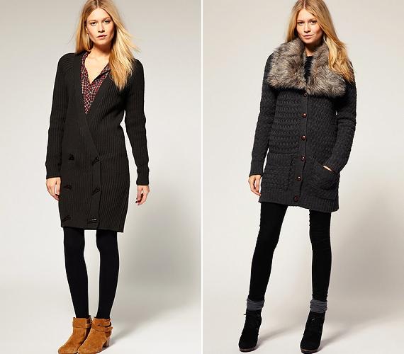 Az extra vastag, szőrmegalléros változatokat kabát helyett is viselheted, míg a mélyen kivágott társaik egy csinos blúzra rávéve ruhaként funkcionálhatnak.
