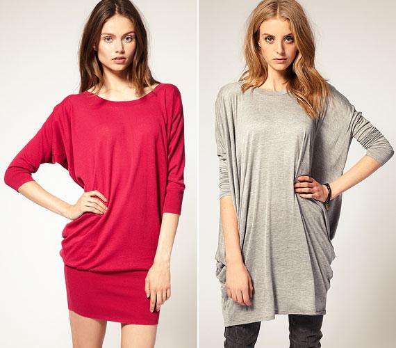 A hosszú, laza pulcsikat leggingsszel ruhaként is viselheted.
