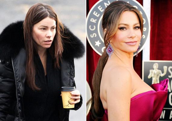 A Modern család sztárjáról, Sofia Vergaráról sokan úgy tartják, hogy ő az igazi nő megtestesítője. A színésznő smink nélkül is nagyon szép, de latinos vonásait igazán a smink adja ki.