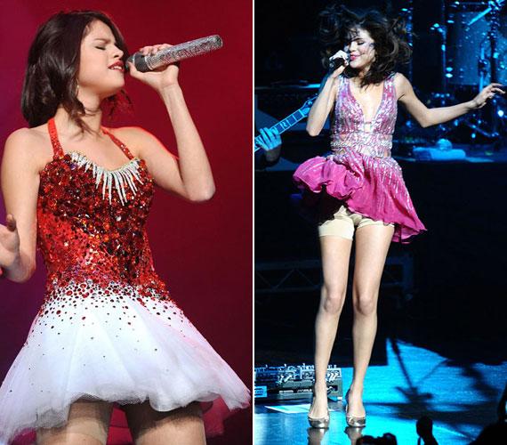 Még az olyan vékony lányok is szívesen viselik, mint Selena Gomez, de ő valószínűleg nem leszorítani akarta a fölös kilókat, hiszen nincsenek neki, hanem egy kicsit megemelni a popsiját.