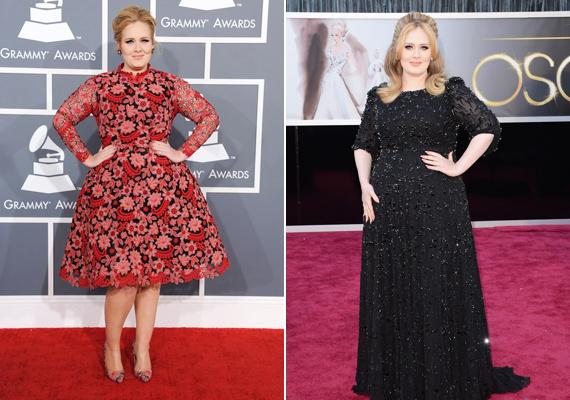 Adele helyében már régen új stylist után néztünk volna, ugyanis a jelenlegi képtelen eltalálni az énekesnő stílusát. Hol túlméretezett virágos rétnek öltözteti, hol 50 éves dívának, pedig Adele még csak 24 éves.