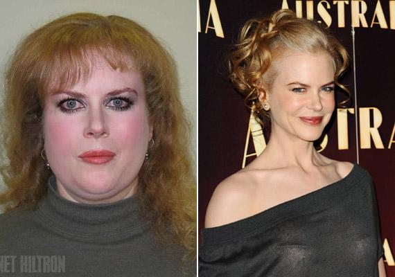 Nicole Kidman mimikája már eltűnt, de azért jól néz ki. Amerikai háziasszonyként nem fest olyan szépen.