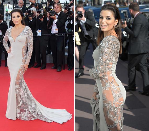 Nem ez volt az egyetlen ilyen esete a színésznőnek 2015-ben. Cannes-ban, a filmfesztiválon is egy kihívó darabot viselt.