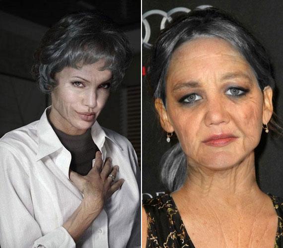 Angelina Jolie nem sikerült valami kedvesre. Jennifer Lawrence reméljük, nem használ majd szürke szemhéjpúdert.